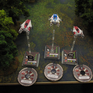 X-Wing On Endor: Turn 02 - Movement & Actions
