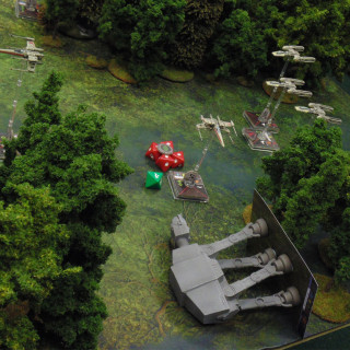 X-Wing On Endor: Turn 03 - Shooting