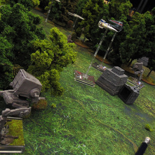 X-Wing On Endor: Turn 04 - Shooting
