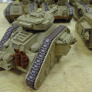 Mass Painting The Armoured Division!