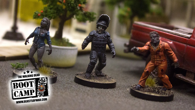 Upcoming Walkers For The Walking Dead: All Out War