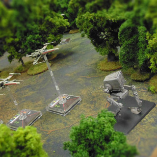 Inspired by Star Wars Battlefront, We Take X-Wing to Endor