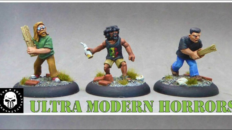 TAG - 28mm Ultra Modern Horror Miniatures