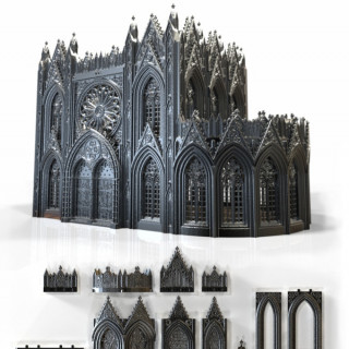 Rampage 3D Printable Gothic Building System