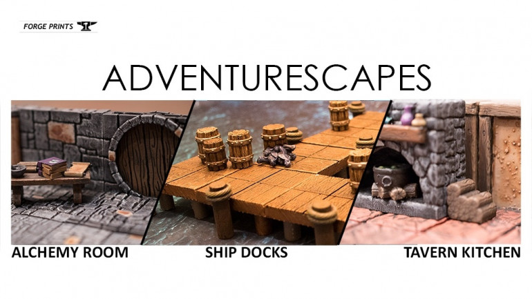 Adventurescape Terrain and Scenery