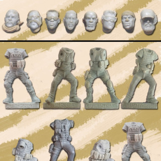 Euphoria Ghost - 28mm Military Models
