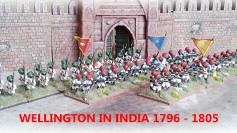 Wellington in India 1796-1805 - 28mm Artillery