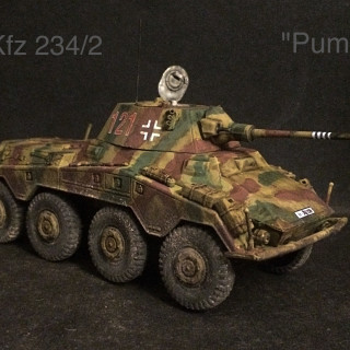 First Vehicle Finished