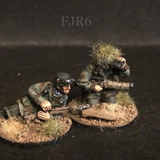 Sniper & Panzerschreck Teams ready for action