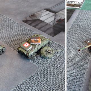 British Sherman Tanks in the middle of Leopard Weekend?
