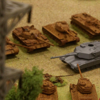 The Tanks Duke It Out...