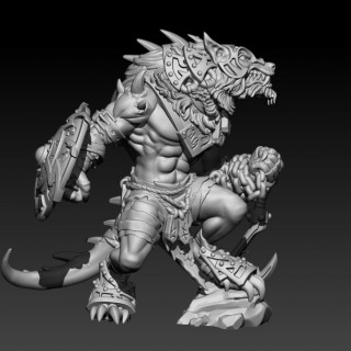 Beyond MK III – A New Warp Wolf For Circle Orboros!