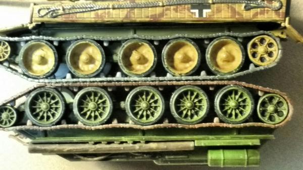 T34- tiger ( wheels )