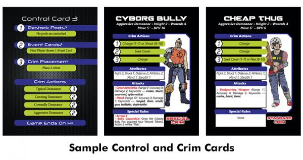 DTRPG Sample Control and Crim Cards