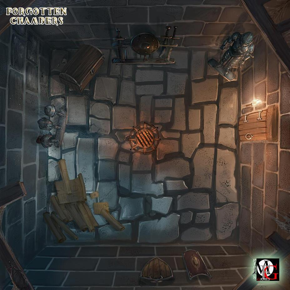 Forgotten Chambers by MedFan Games – OnTableTop – Home of Beasts of War