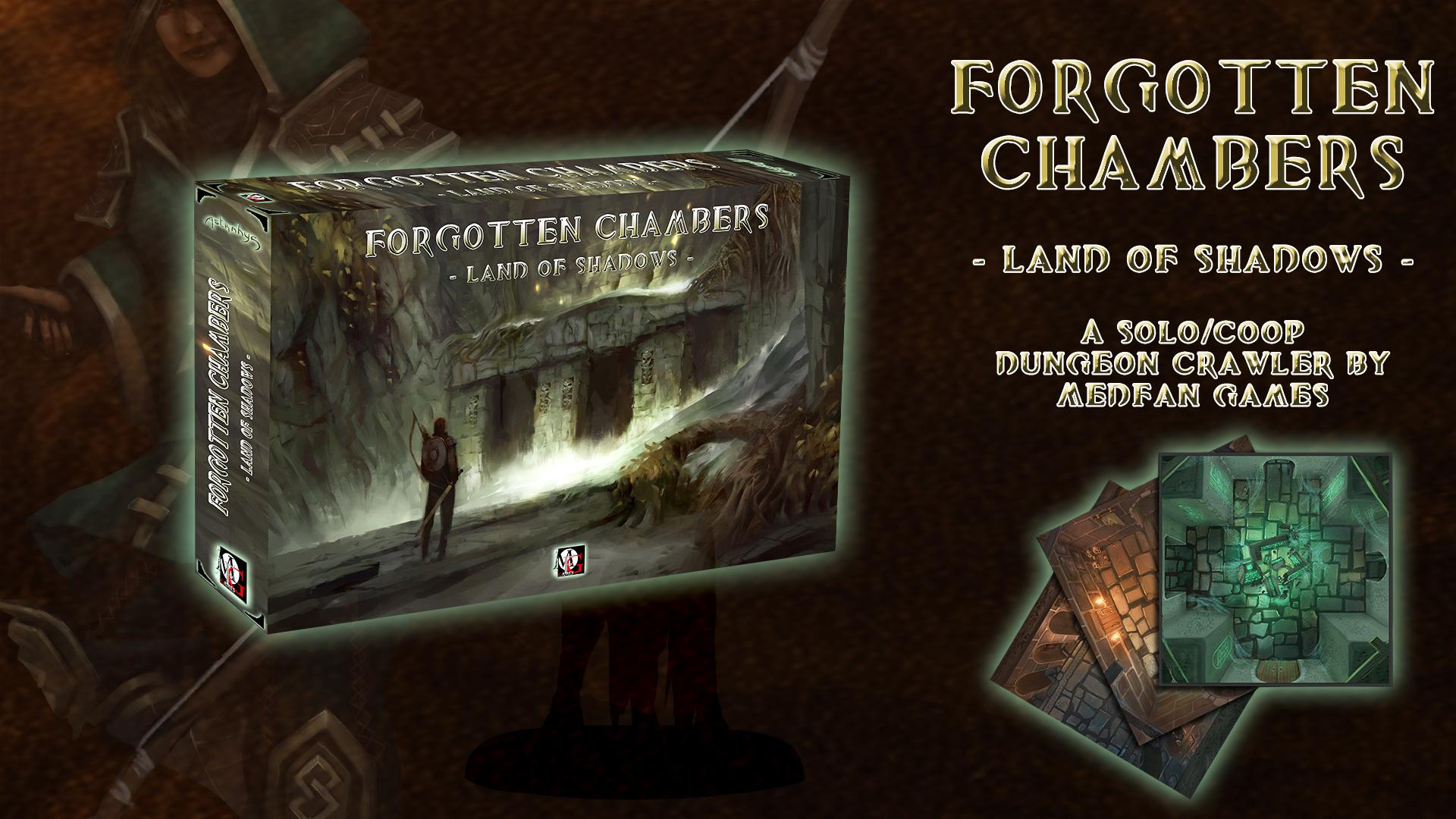 Forgotten Chambers by MedFan Games – OnTableTop – Home of