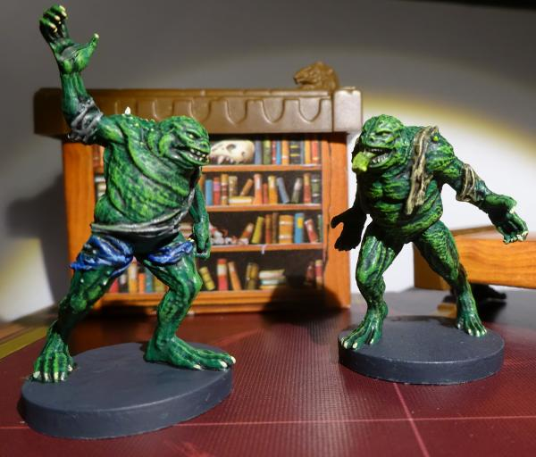 Test - Frog Monsters scenery