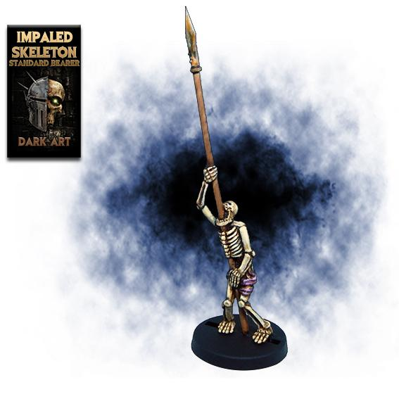 Impaled skeleton