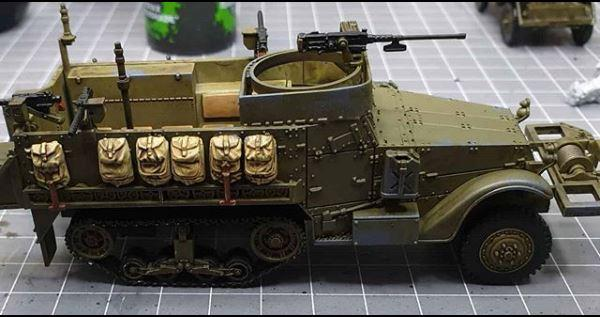 Company HQ Halftrack for my US armoured Infantry Company