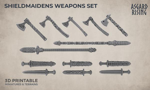 shieldmaidens weapons