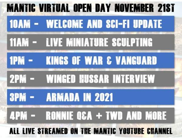 Mantic open day